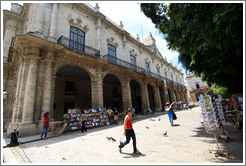 Palacio de Los Capitanes Generales, former residence of the governors of Havana, Plaza de Armas, Old Havana.