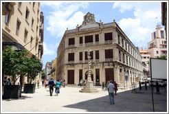 Casa de Cambio (currency exchange), Plaza San Francisco de Asis, Old Havana.