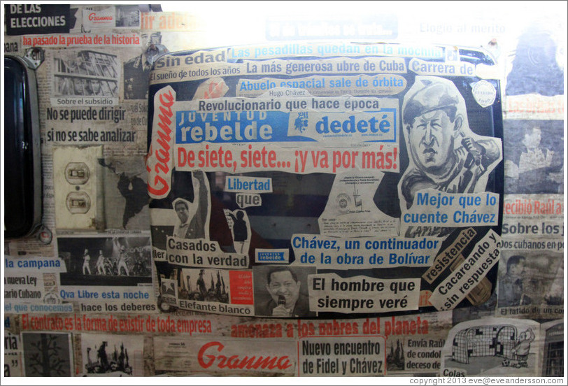 Collage of newspaper clippings, Proyecto Salsita.