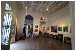Studio of Cuban artists Juan Moreira and Alicia Leal.