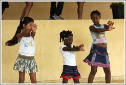 Girls dancing, Abraham Lincoln Cultural Center.