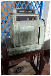 Old National cash register, Ediciones Vigia.