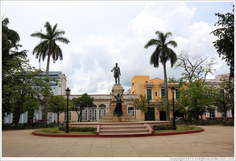 José Martí Statue, Parque De La Libertad (Liberty Park