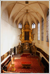 Church of All Saints, Old Royal Palace, Prague Castle.