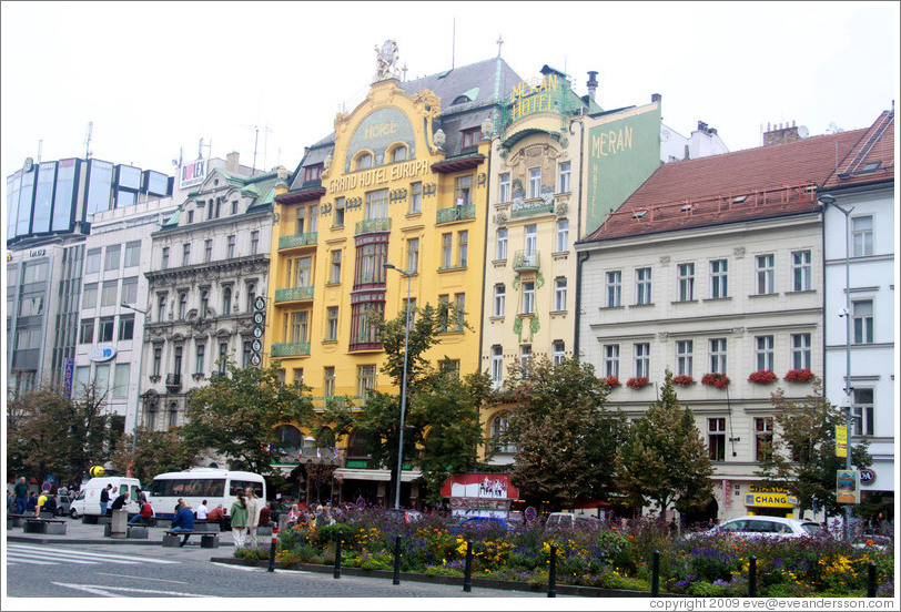 grand hotel europa wenceslas square v avsk 283 st nov sto photo id 15577 prague. Black Bedroom Furniture Sets. Home Design Ideas