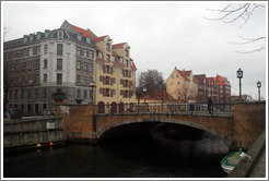 Bridge over Christianshavns canal.