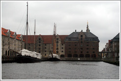 Port of Copenhagen.