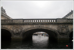 Marmorbroen (The Marble Bridge), over Frederiksholms Canal.