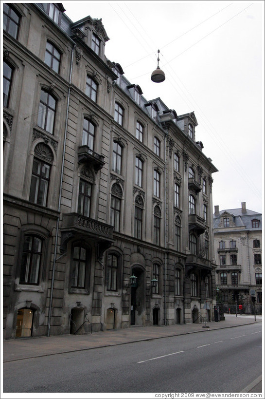 Bredgade, Frederiksstaden district, city centre.
