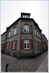 Stone house.  Olfert Fischers Gade, Nyboder district, city centre.