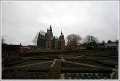 Rosenborg Castle and adjacent garden.