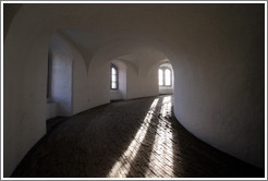 Rundetaarn (The Round Tower), interior.