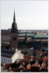 Helligaandskirken, viewed from Rundetaarn (The Round Tower).