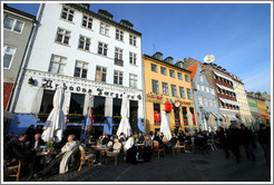 Restaurants.  Nyhavn (New Harbor).