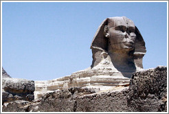 The Great Sphinx.