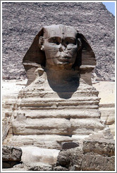 The Great Sphinx, front view.
