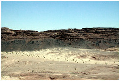 Sinai Desert (grey, black, brown, and beige).