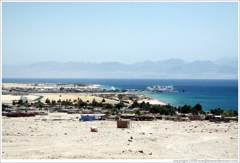 The port city of Nuweiba.