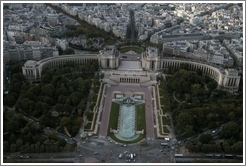 Trocadero, viewed from the Eiffel Tower.