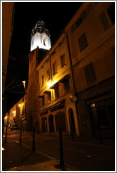Couvent des Augustins at night.  Old town.