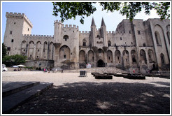 Palais des Papes, the largest Gothic palace in Europe.