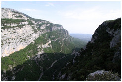 View from La Source Parfum�e.