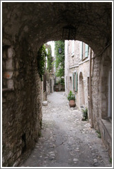 Arch in the village center.