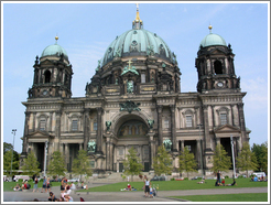 Berliner Dom.  This cathedral was built by Julius and Otto Raschdorff between 1894 and 1905.