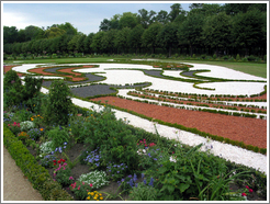 Garden at Charlottenburg Palace.