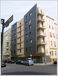 New housing in East Berlin.