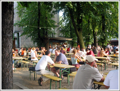 Prater Biergarten, the oldest beer garden in Berlin.