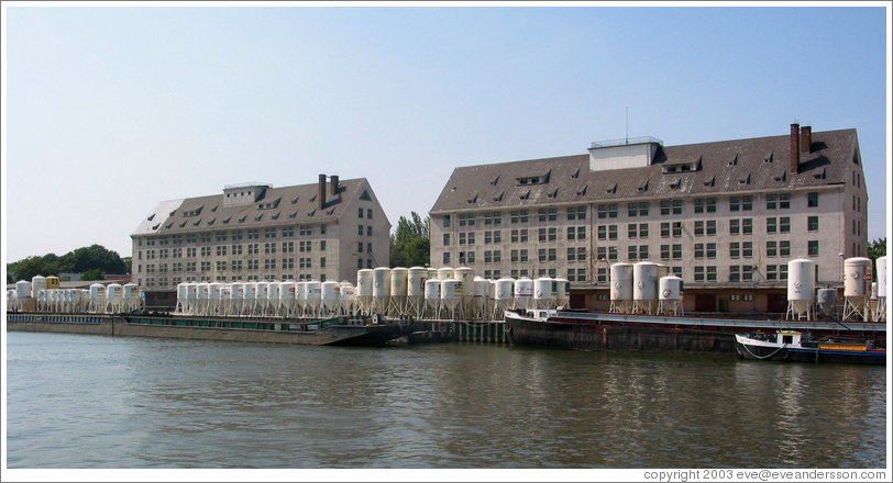 Building on the Havel river.