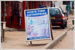 God's Time Enterprise, which sells food products.