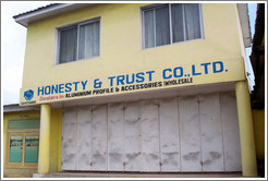 Honesty & Trust Co., Ltd., which sells wholesale aluminium.