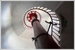 Stairs in the lighthouse.