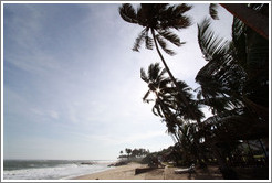 Beach in Elmina.