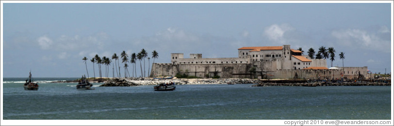 Elmina Castle. (Photo ID 18811-elmina)