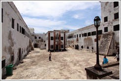 Courtyard, Elmina Castle.