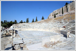 The Theatre of Dionysus (Θέατρο του Διονύσου) at the Acropolis (Ακρόπολη).
