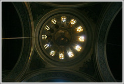 Ceiling of the church of Aghia Irene (Αγία Ειρήνη).