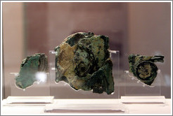 Antikythera Mechanism at the National Archaeological Museum.