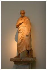 Statue of Kleonikos, son of Lysandros, from early 1st century BC.  National Archaeological Museum.