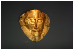 Mask of Agamemnon.  National Archaeological Museum.