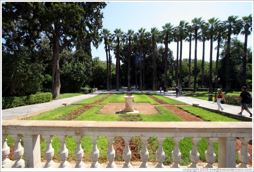 National Gardens. (Photo ID 13456-athens)