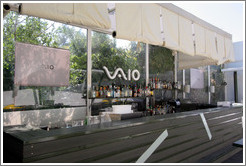 Sony VAIO bar at the Saint George Lycabettus hotel.
