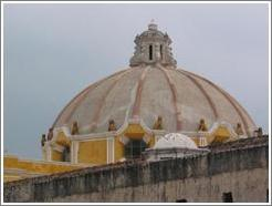 Dome of the Iglesia Merced.