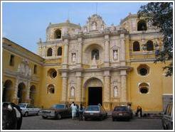 Facade of the Iglesia Merced.