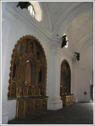 San Francisco church interior.