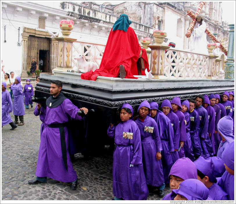 Semana Santa (Holy Week) procession.