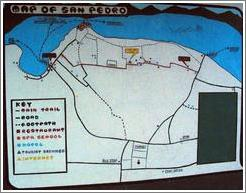 Map of San Pedro.